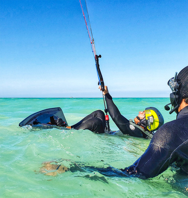 3 DAY STARTER PACK, KITEBOARDING LESSONS AT HOLBOX ISLAND